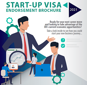 Start-up visa brochure front cover image